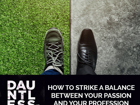 How To Strike A Balance Between Your Passion And Your Profession With Cory Stowers