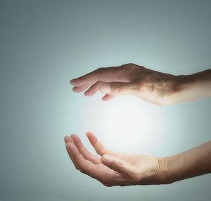 Energy manifestation  - Female healer's