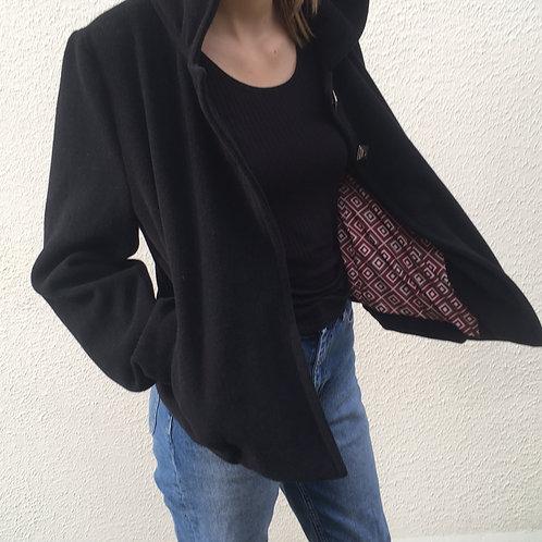 Veste lainage noir