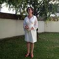 Filenville, Mariée robe cache coeur en crèpe ivoire et ceinture en satin.
