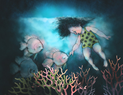 INKTOBER 2020. Fish, Swim, Corals-4 copy