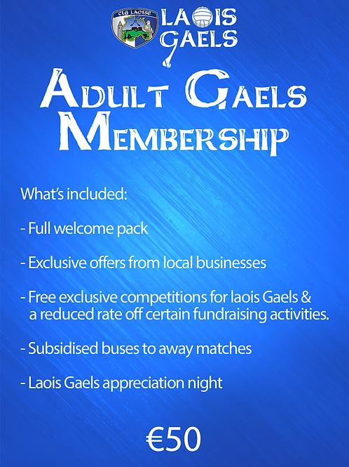 Adult Gaels Membership