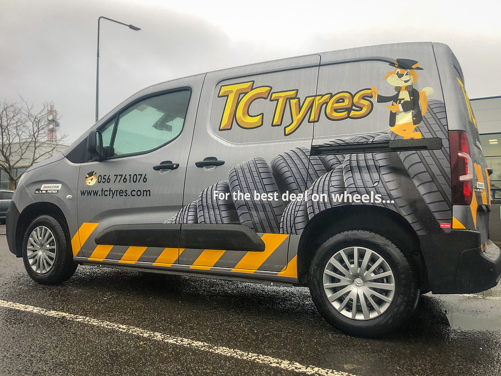 Vehicle Graphics, van signs kilkenny