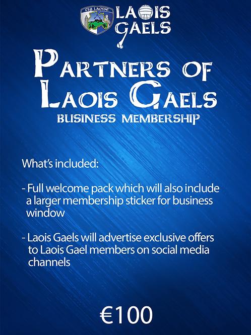 Partners of Laois Adult Gaels Membership