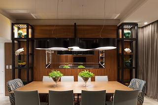 Projeto residencial Apartamento EM NV Arquitetura Studio FOS Iluminação