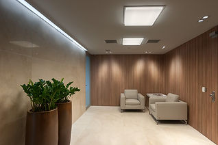 Projeto Nova Sede Jaymar Investimentos MAA Letícia Sá Studio FOS Iluminação