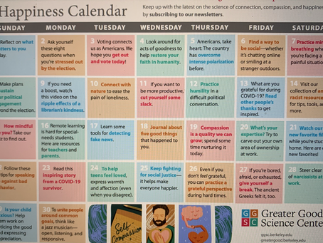 Your Happiness Calendar