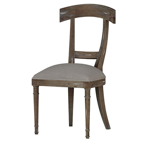 Hoxton Chair W/ Tin & Upholstery