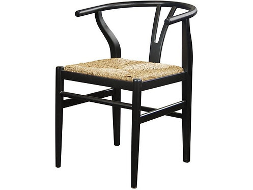 MIX-N-MATCH CHAIRS WISHBONE SIDE CHAIR