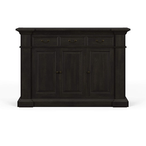 Roosevelt 3 Drawer Narrow Sideboard - BKY