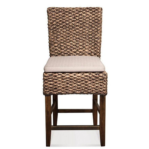 MIX-N-MATCH CHAIRS WOVEN COUNTER STOOL