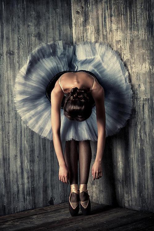 Ballerina Stretching tempered glass