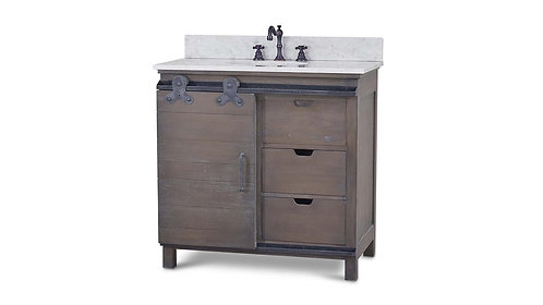Sonoma Single Vanity With Marble And Sink