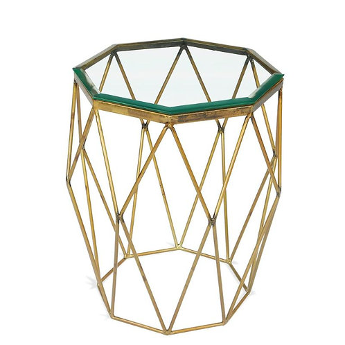 LUCENTIO OCTAGON SIDE TABLE
