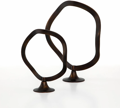 Steinbeck table décor, set of 2