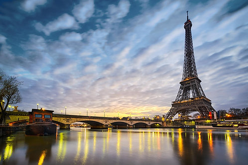 Eiffel tower tempered glass