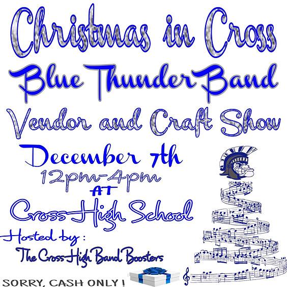 Cross HS Blue Thunder Band Vendor & Craft Show