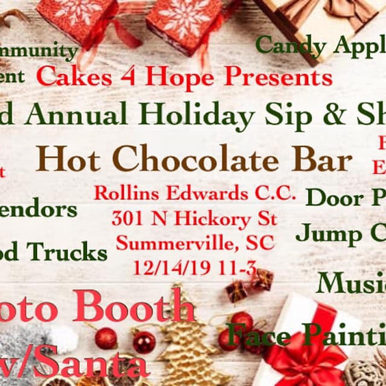 3rd Annual Sip & Shop presented by Cakes 4 Hope