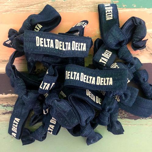 Tri Delta Hair Ties