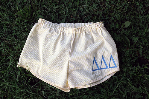 Tri Delta Seer Sucker Shorts