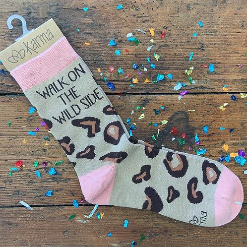 Walk On The Wild Side Socks