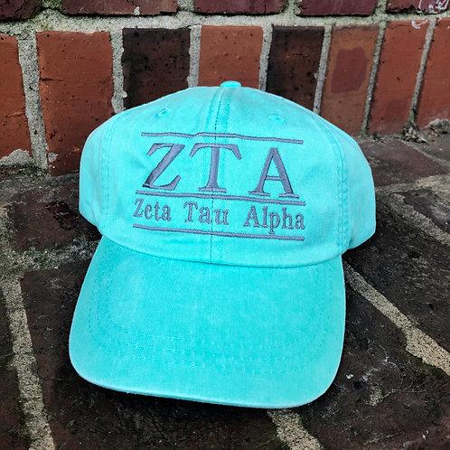 Zeta Tau Alpha Bar Hat