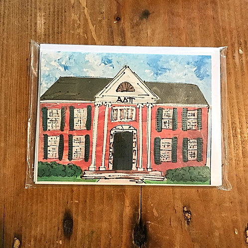 Alpha Delta Pi House Stationary