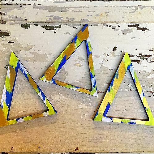 Delta Delta Delta Sorority Dye Cut Letters
