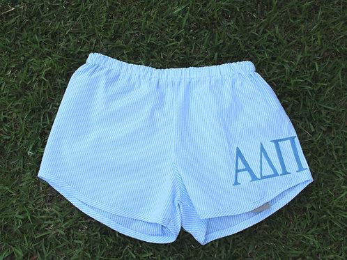 Alpha Delta Pi Seer Sucker Shorts