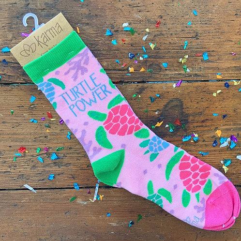Turtle Power Socks