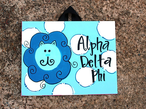 Alpha Delta Pi Mascot Canvas
