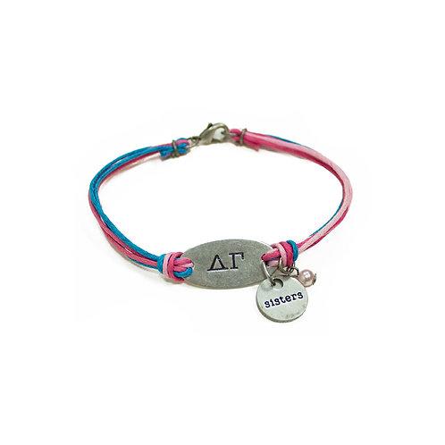 Delta Gamma String Bracelet