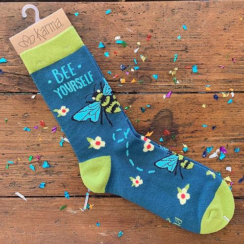 Bee Yourself Socks