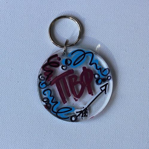 Pi Beta Phi Acrylic Keychain