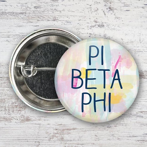 Pi Beta Phi Watercolor Pin