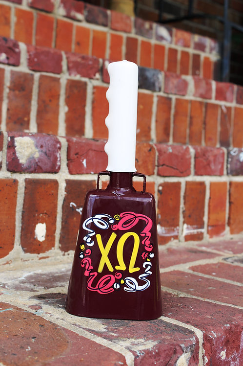 Chi Omega Cowbell