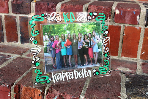 Kappa Delta Acrylic Picture Frame