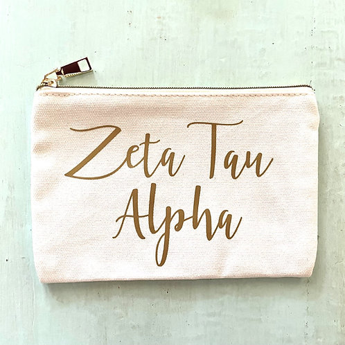 Zeta Tau Alpha Cosmetic Mag
