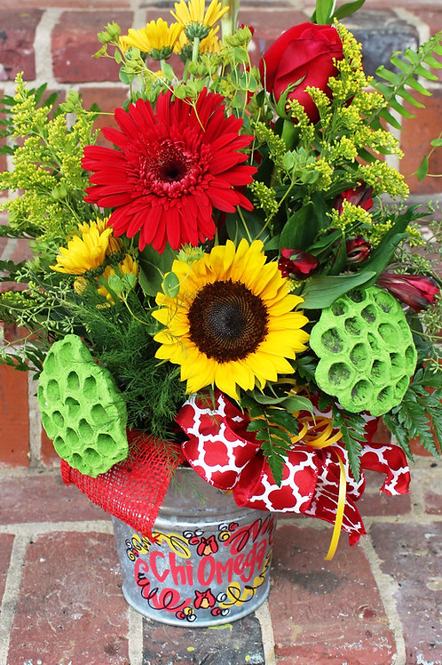 Kappa Delta Medium Flower Arrangement