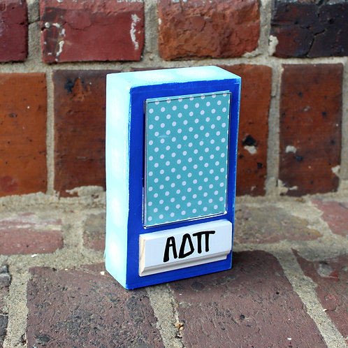 Alpha Delta Pi Small Patterned Frame