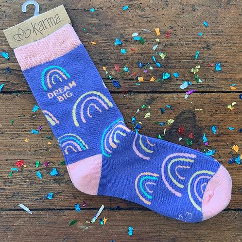 Dream Big Socks