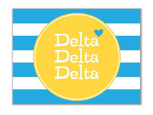 Tri Delta Stationary