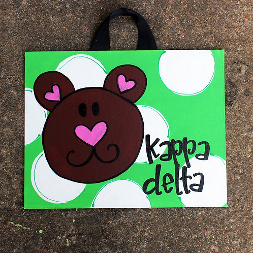 Kappa Delta Mascot Canvas
