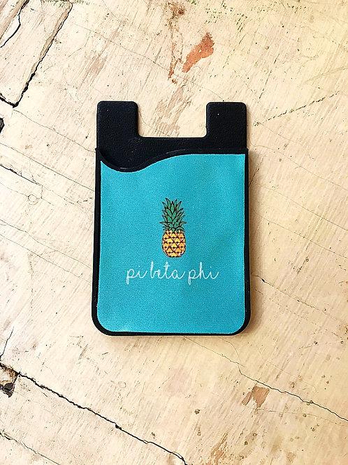 Pi Beta Phi Pineapple Phone Sleeve