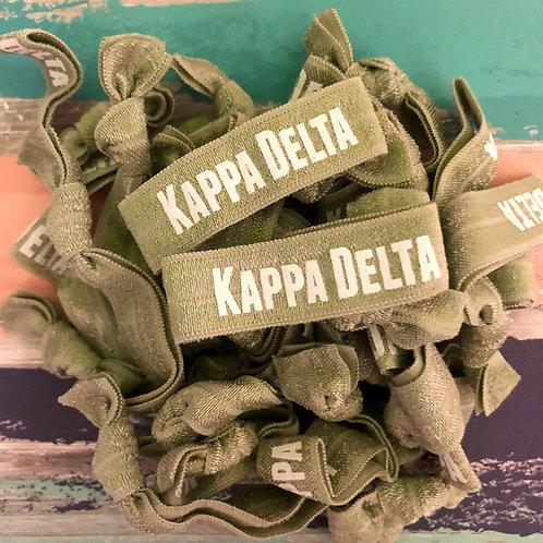 Kappa Delta Hair Tie