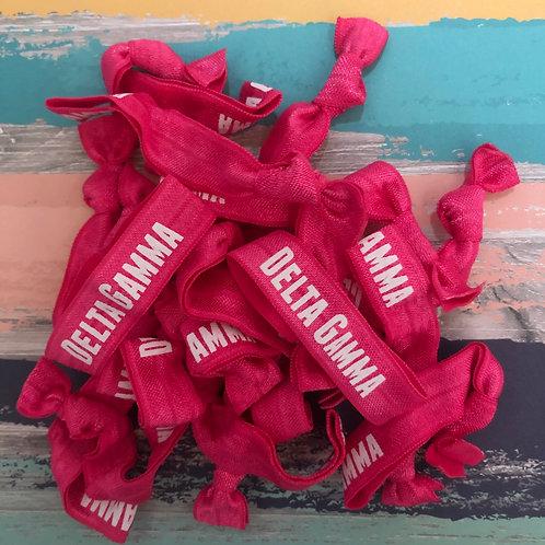 Delta Gamma Hair Tie