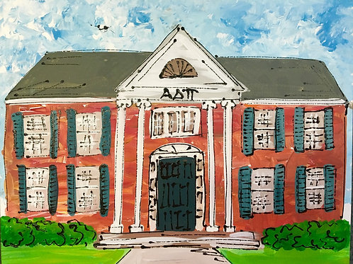 Alpha Delta Pi Sorority House Print