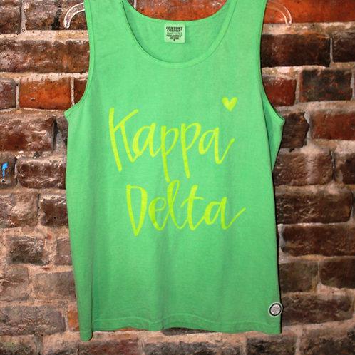 Kappa Delta Heart Tank