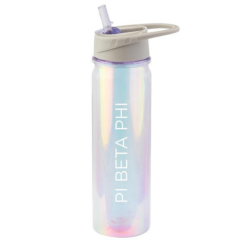 Pi Beta Phi Iridescent Water Bottle