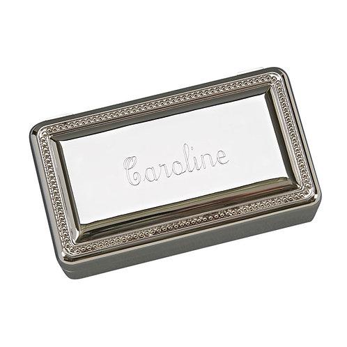Beaded Rectangle Box
